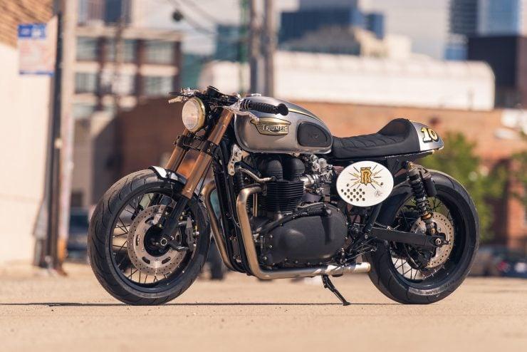 Triumph Bonneville by Analog Motorcycles 7