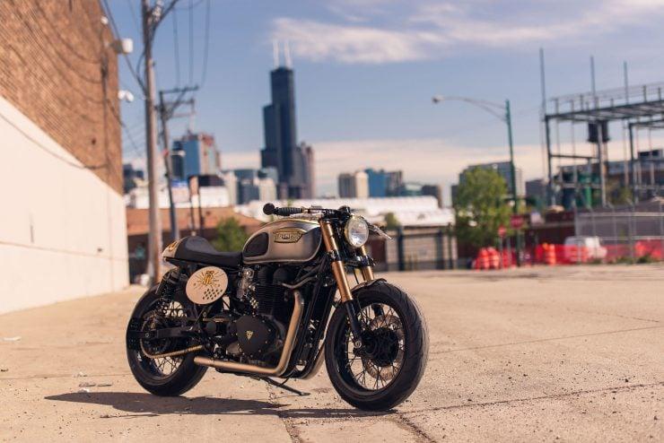 Triumph Bonneville by Analog Motorcycles