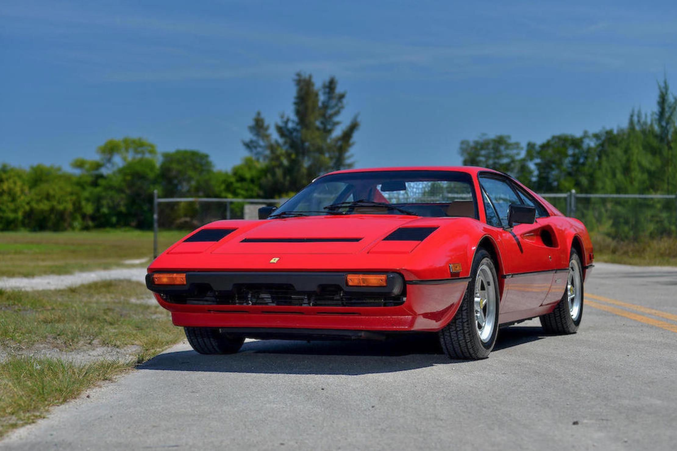 the first ferrari 308 gtb quattrovalvole
