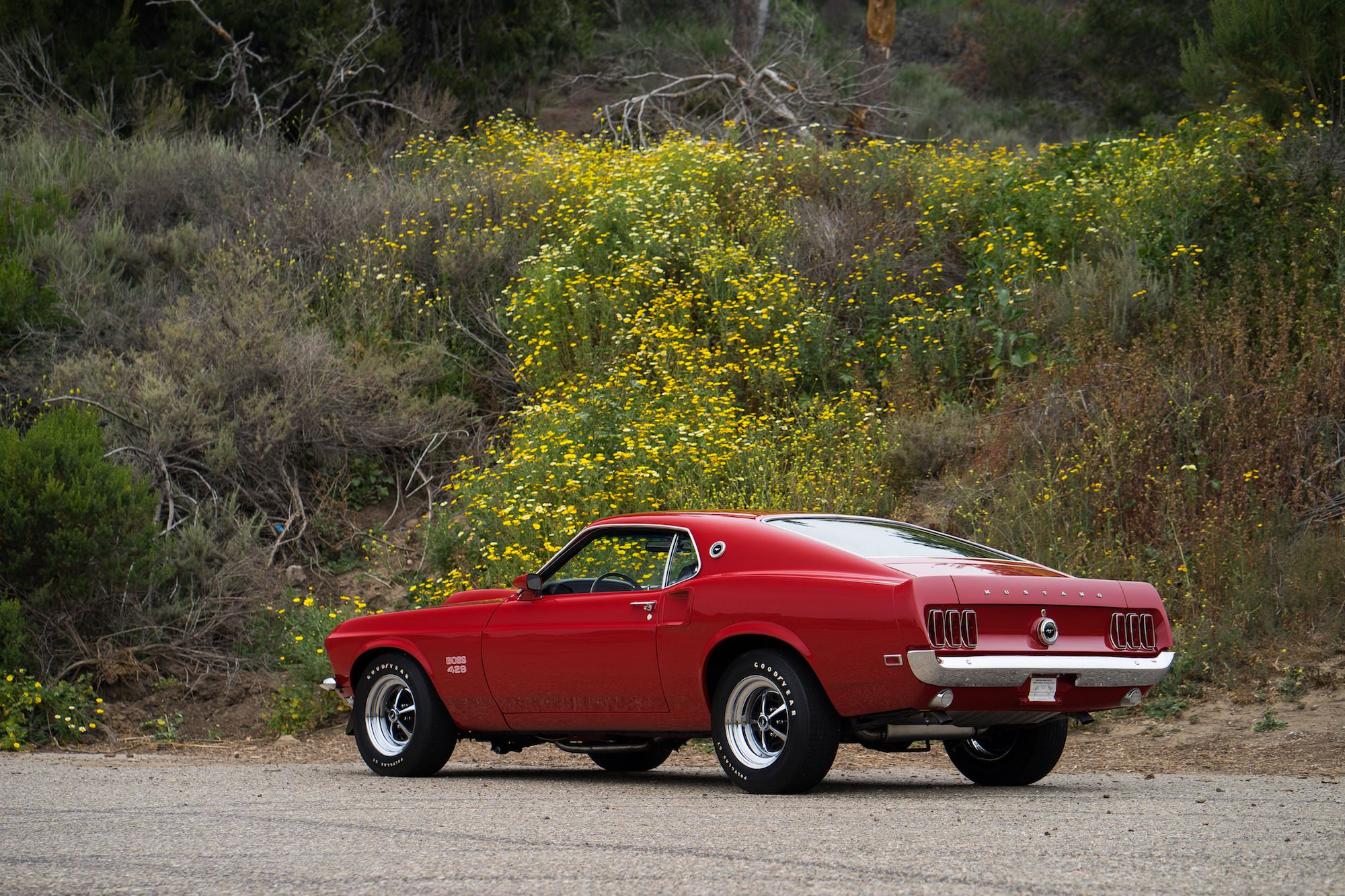 Kleurplaten Auto Ford Mustang.1969 Boss 429 Ford Mustang