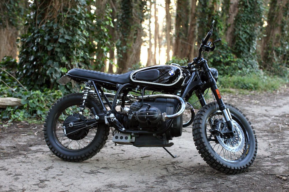 BMW Scrambler Motorcycle 14