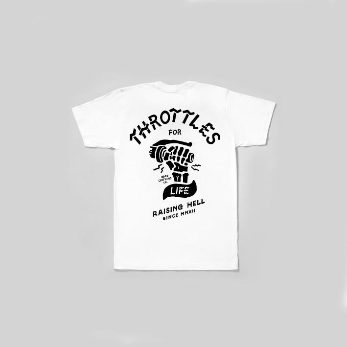 ODFU Motorcycle T-Shirt Throttle 3