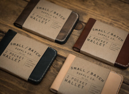 Small Batch Supply Co. 2 Pocket Wallet 8 450x330 - Small Batch Supply Co. 2 Pocket Wallet
