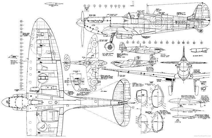 Spitfire-Plans