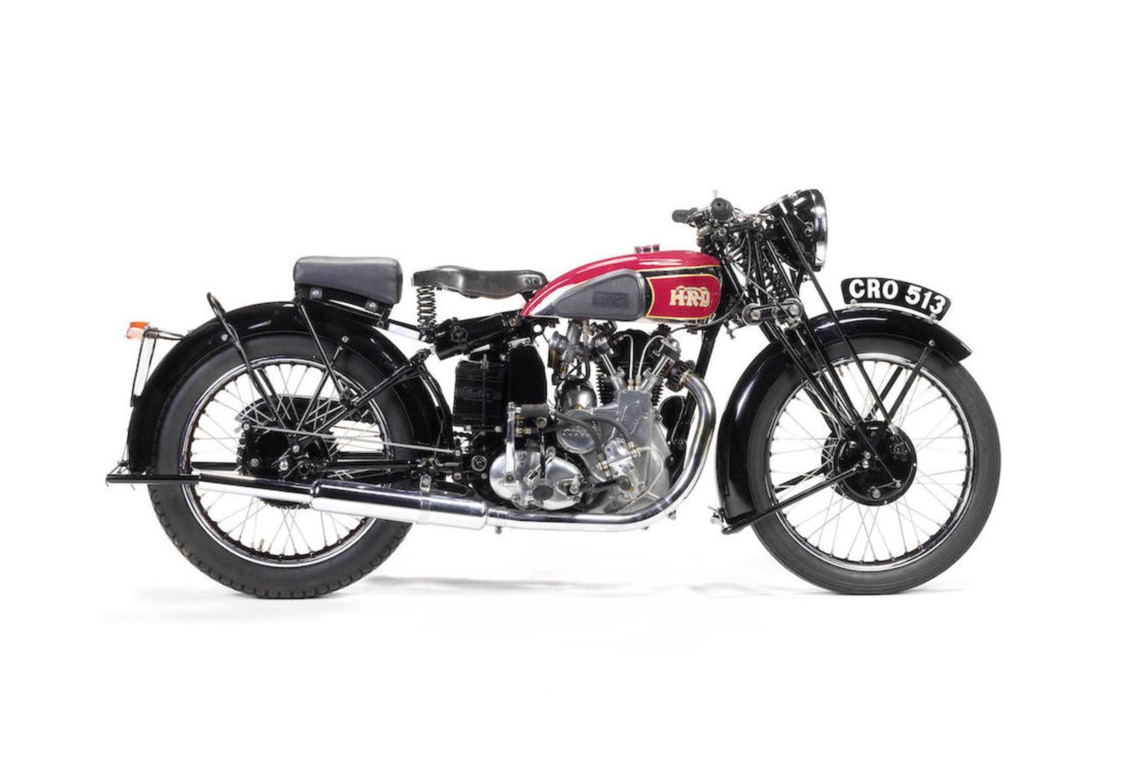 1937 Vincent-HRD Comet