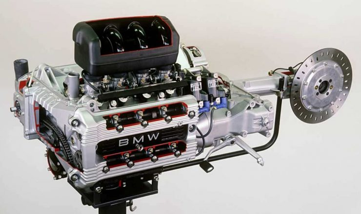 BMW K100 Engine