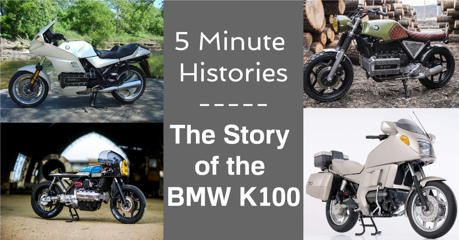 BMW K100 History Article