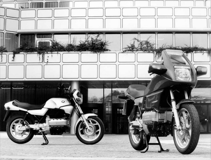 BMW K100 and BMW K100RS