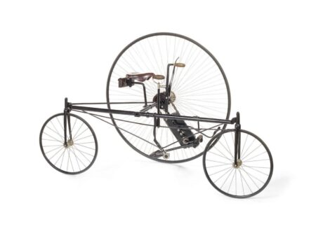 Coventry Rotary Tricycle 450x330 - Coventry Rotary Tricycle - Circa 1879