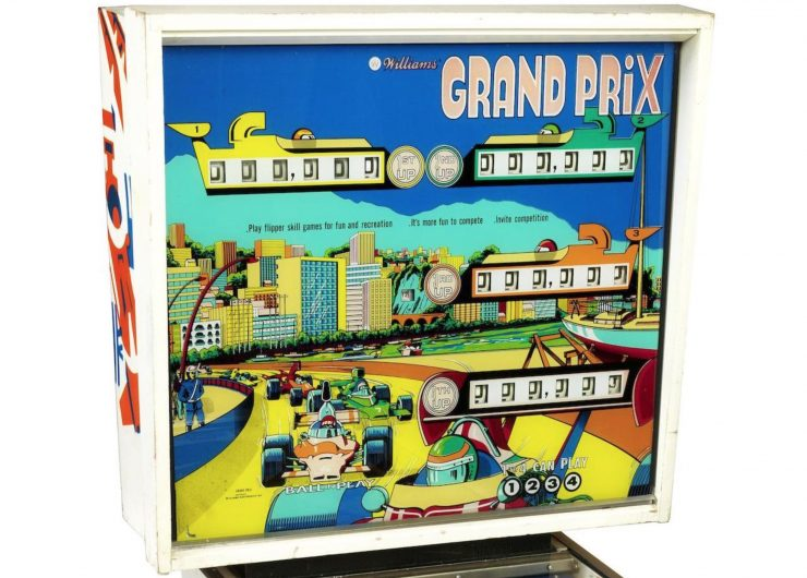 Grand Prix pinball machine 1