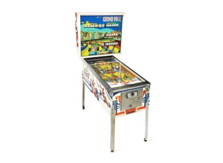 Grand Prix pinball machine 450x330 - Vintage Grand Prix Pinball Machine