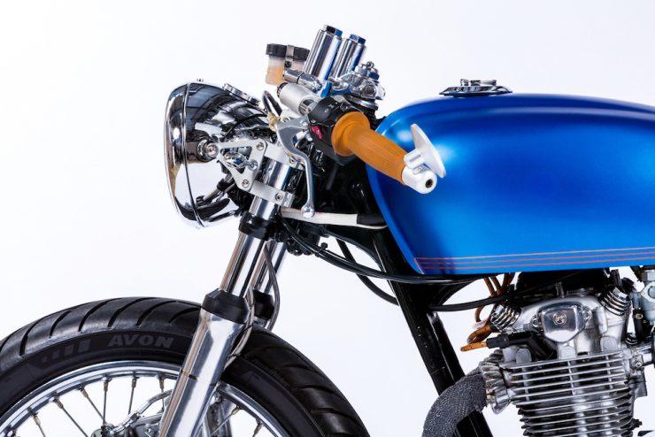 Honda CB550 Motorcycle 11