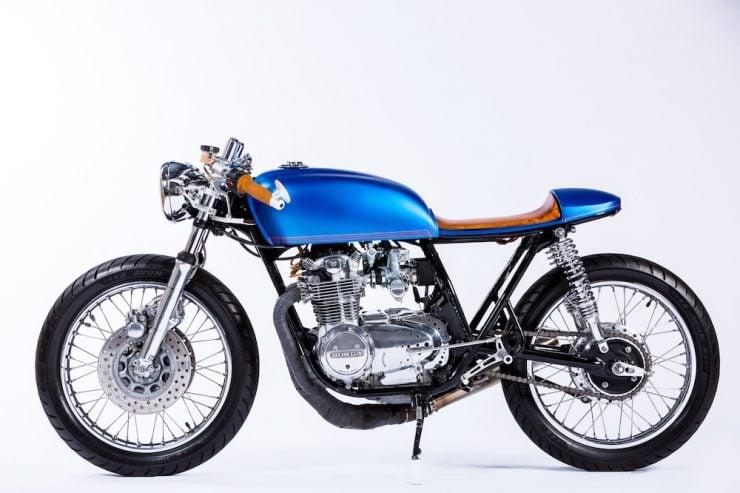 Honda CB550 Motorcycle 13