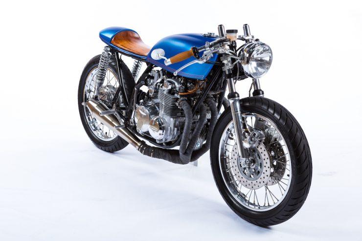 Honda CB550 Motorcycle 14