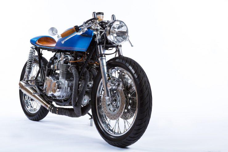 Honda CB550 Motorcycle 16