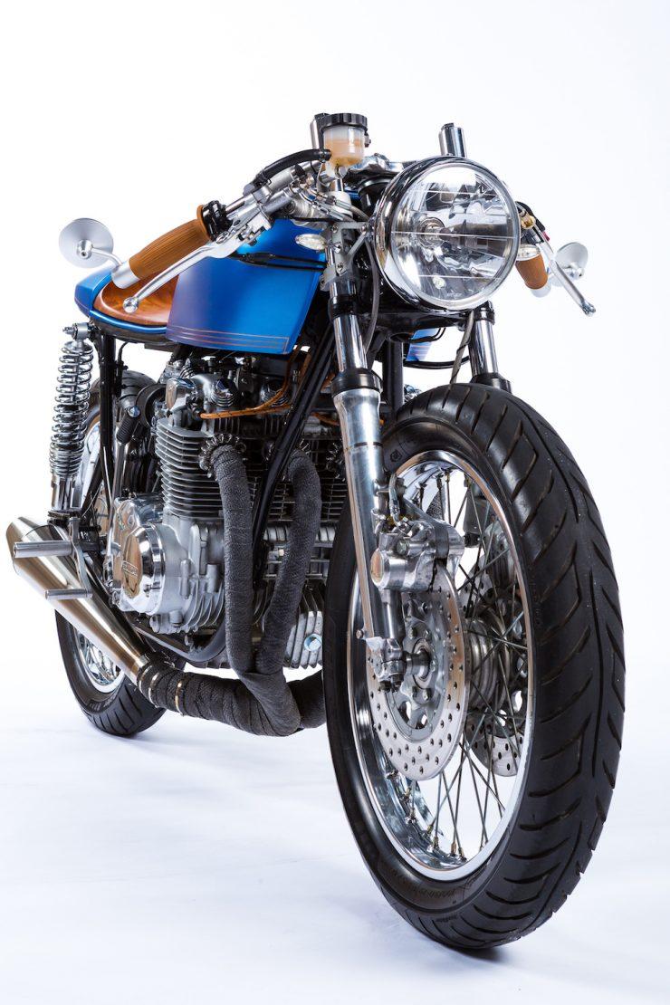 Honda CB550 Motorcycle 17