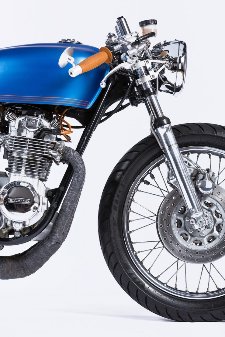 Honda CB550 Motorcycle 2