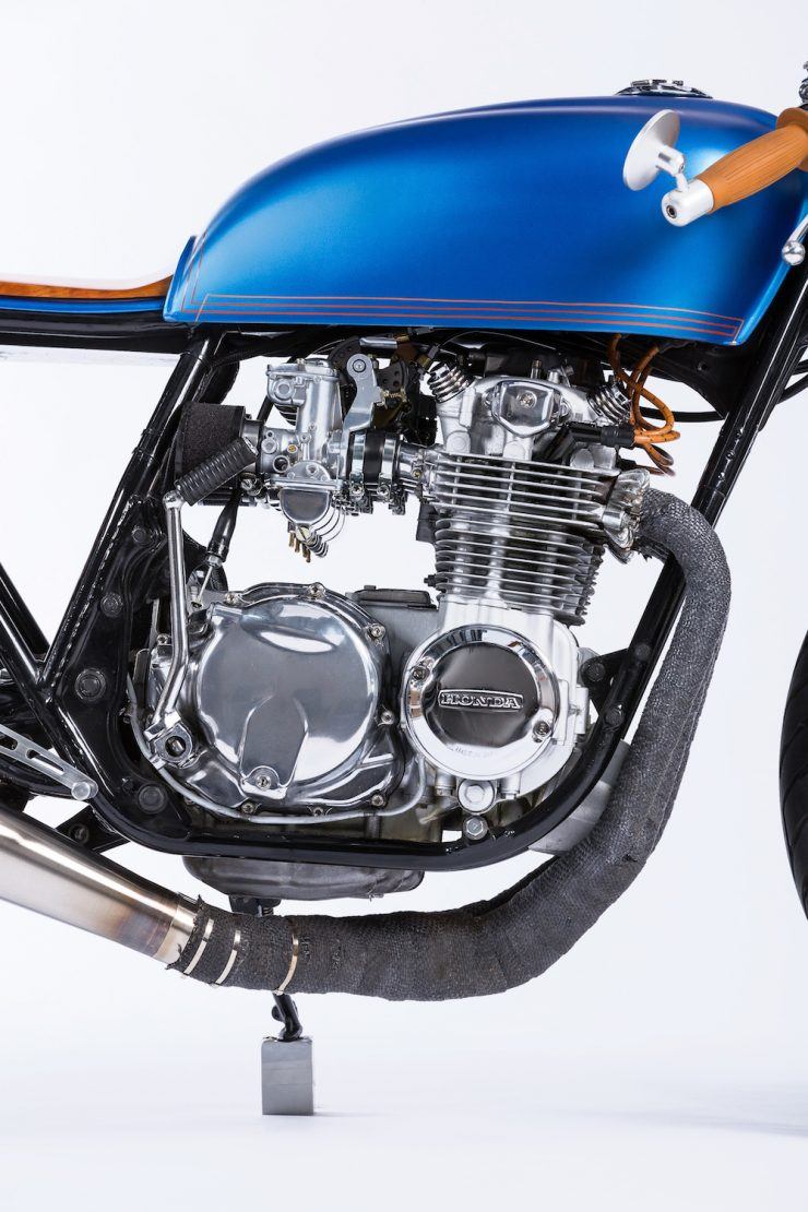 Honda CB550 Motorcycle 3