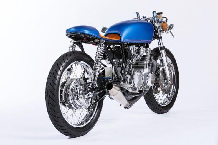 Honda CB550 Motorcycle 4