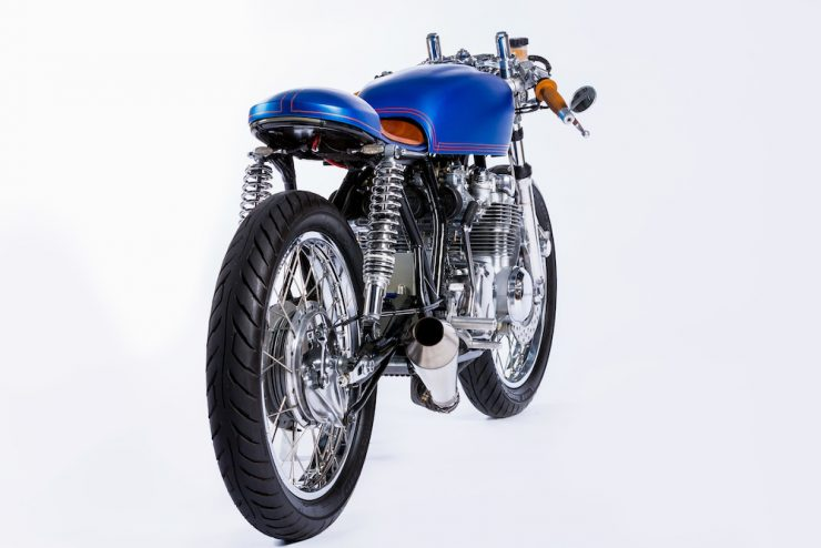 Honda CB550 Motorcycle 8