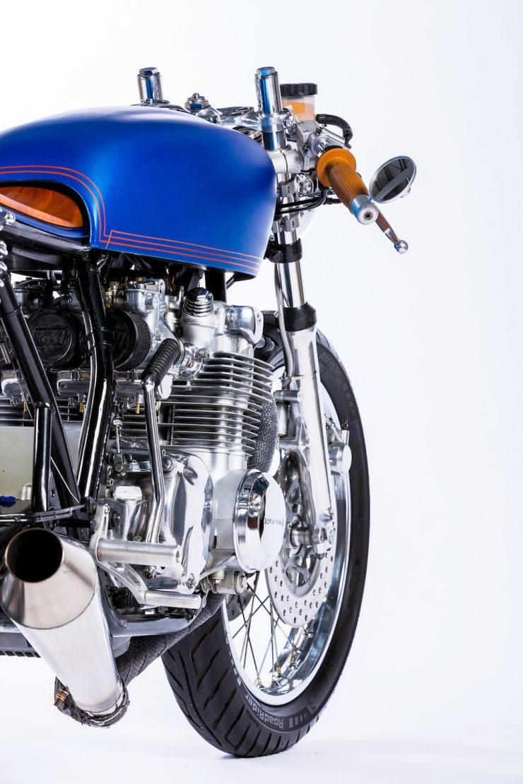 Honda CB550 Motorcycle 9