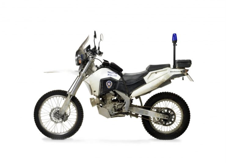 Honda CRF250R Motorcycle Skyfall James Bond 2
