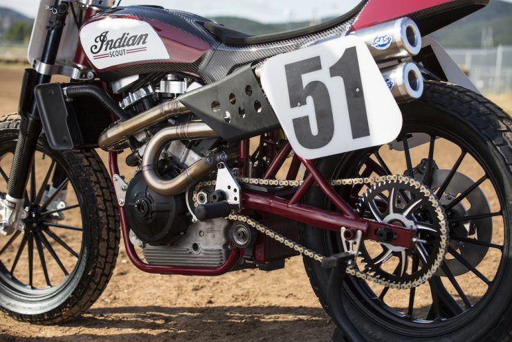 Indian FTR 750 8