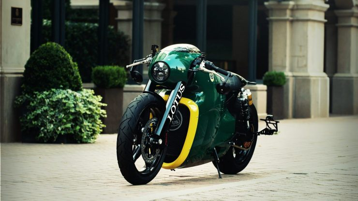 Lotus C-01 Motorcycle 1