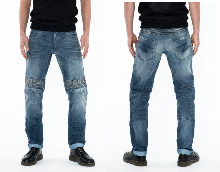 Pando Moto Karl Desert Motorcycle Jeans 3