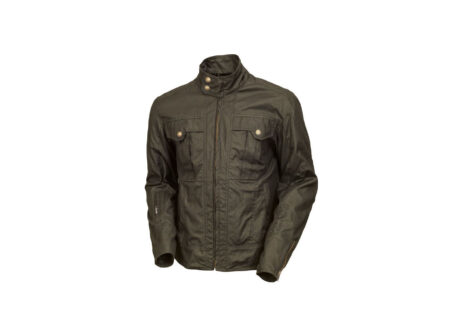 RSD Kent Waxed Cotton Motorcycle Jacket