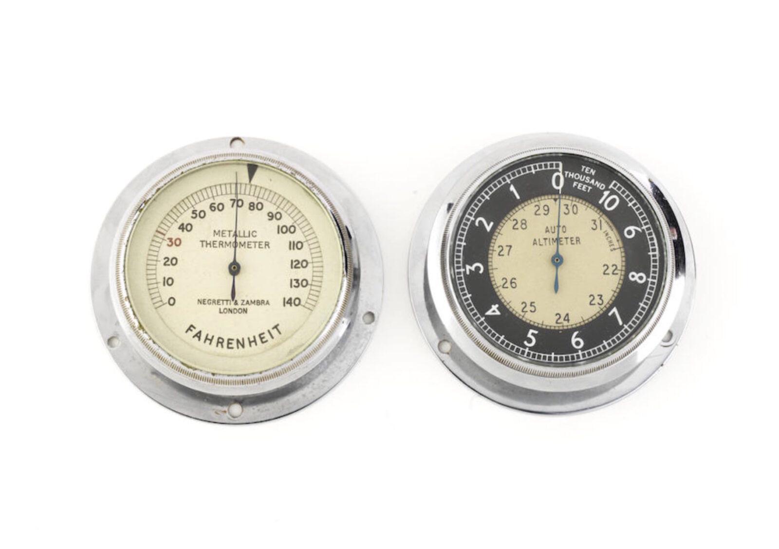 Racing Dashboard Instruments 1600x1128 - 1930s-Era Dashboard Instruments