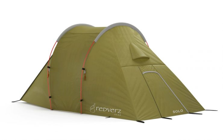 Redverz Solo Expedition Tent 2