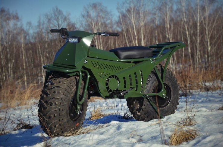 Taurus 2X2 Adventure Motorcycle 1