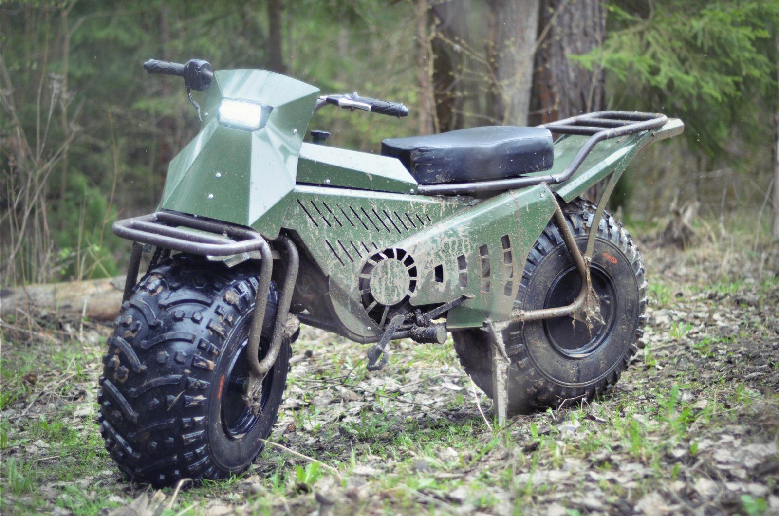 Taurus 2x2 Adventure Motorcycle Silodrome