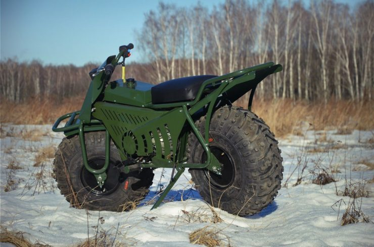 Taurus 2X2 Adventure Motorcycle 2