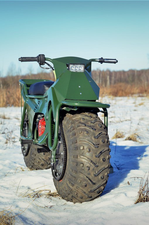 Taurus 2X2 Adventure Motorcycle 4