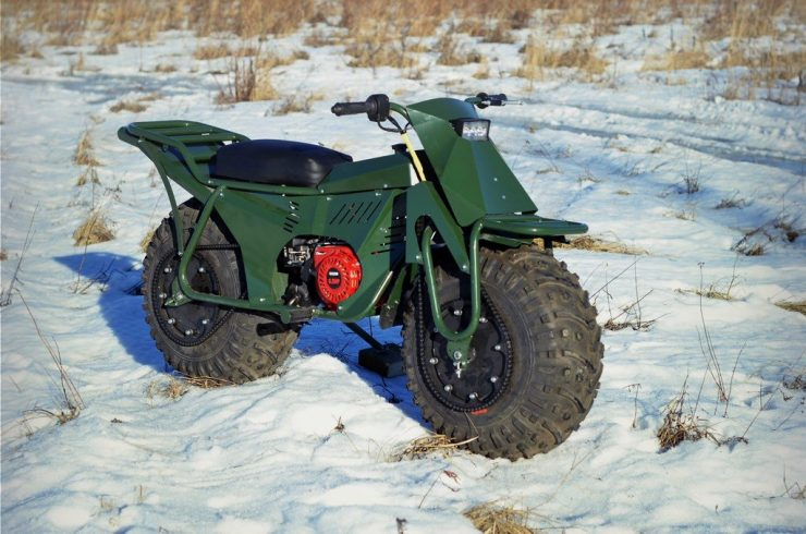 Taurus 2X2 Adventure Motorcycle 5