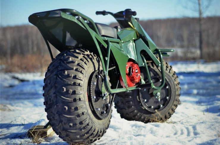 Taurus 2X2 Adventure Motorcycle 6
