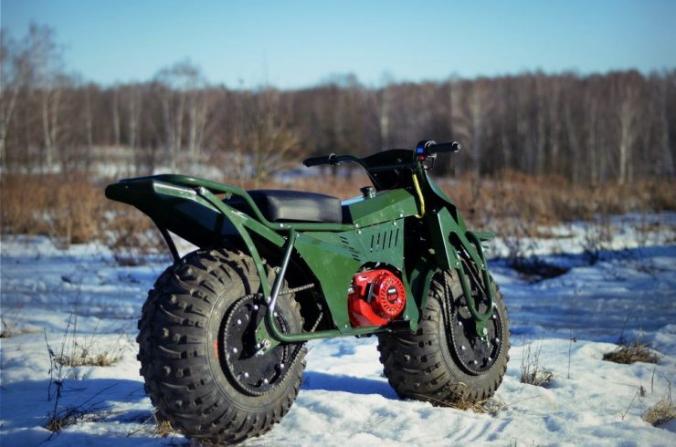 Taurus 2X2 Adventure Motorcycle 7