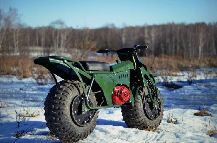 Taurus 2X2 Adventure Motorcycle 7