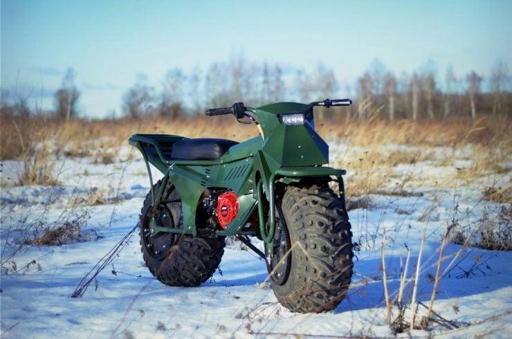 Taurus 2X2 Adventure Motorcycle 8