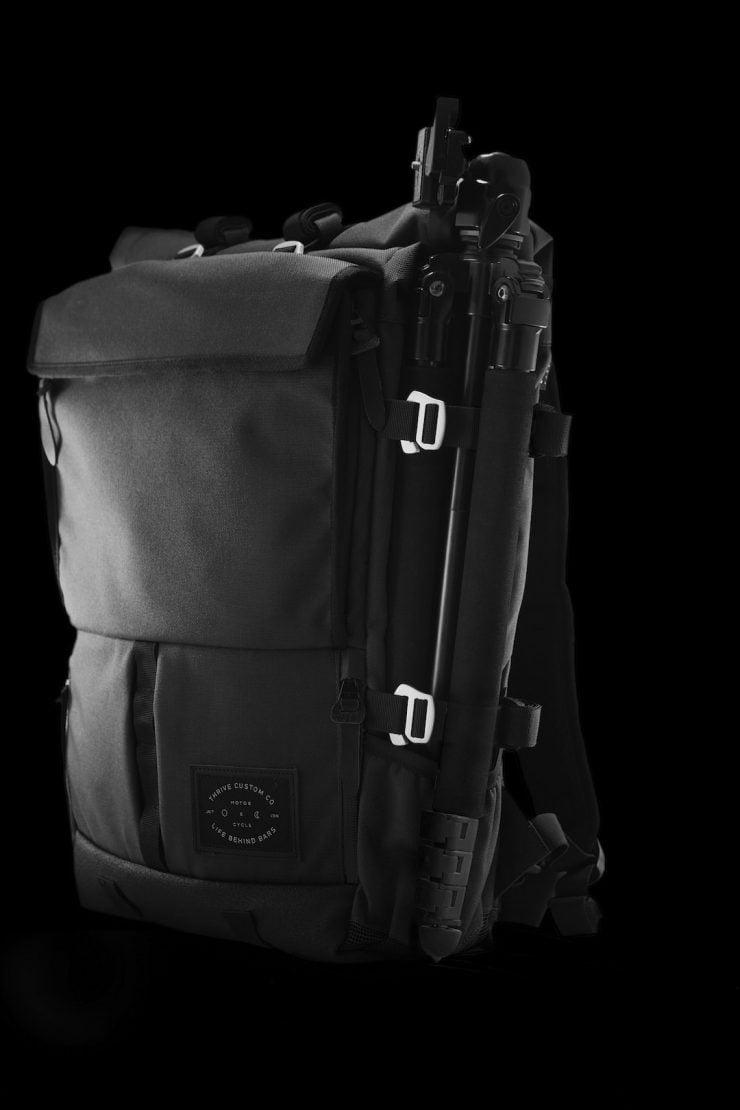 The Peloton Asphalt Motorcycle Backpack 10