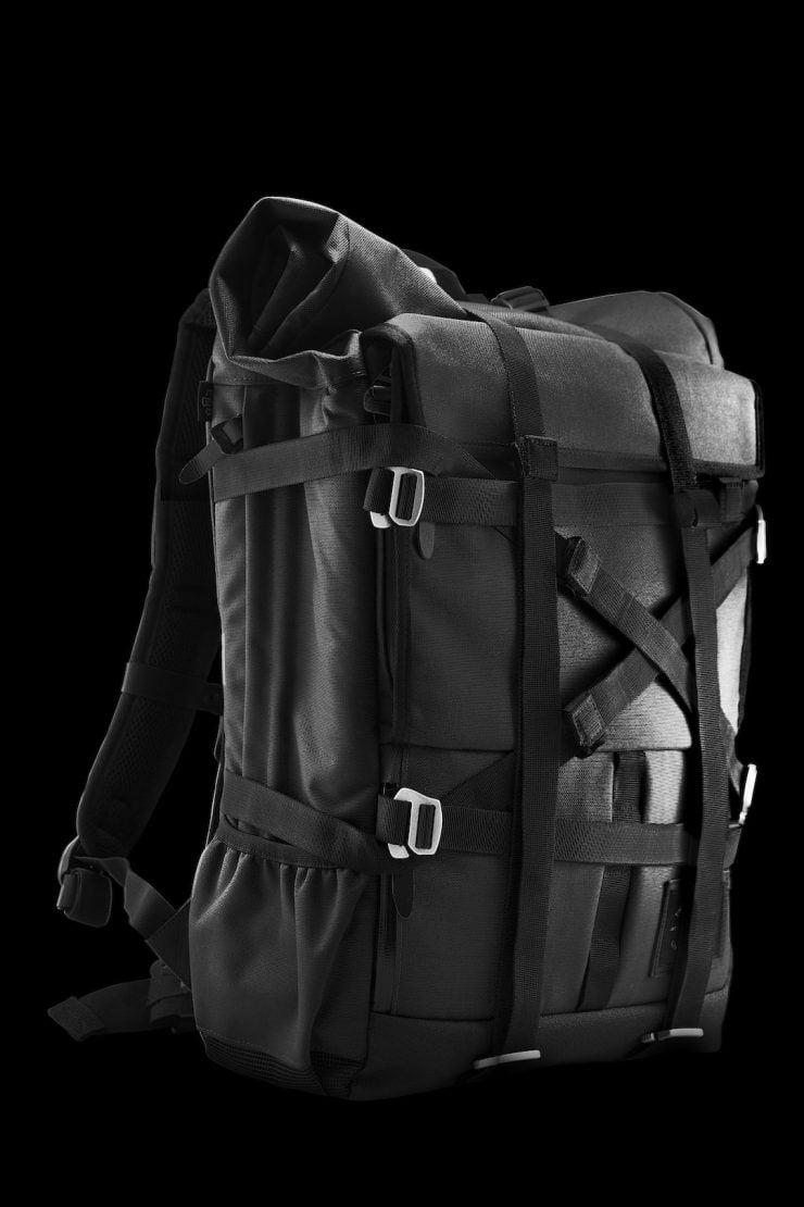 The Peloton Asphalt Motorcycle Backpack 11
