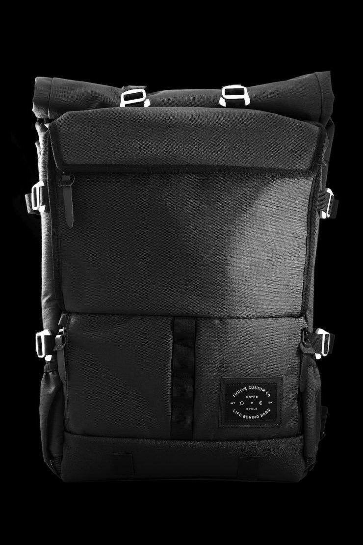 The Peloton Asphalt Motorcycle Backpack 3