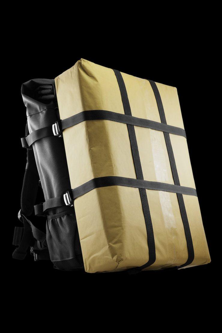 The Peloton Asphalt Motorcycle Backpack 5