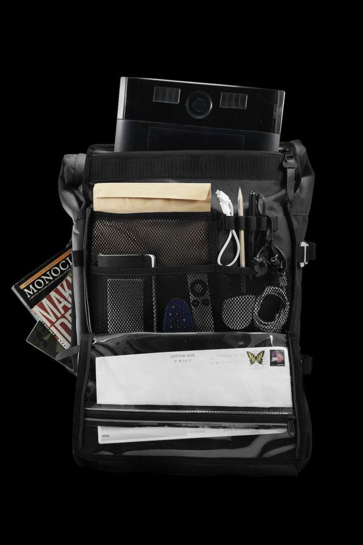 The Peloton Asphalt Motorcycle Backpack 7