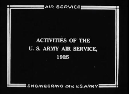 United States Army Air Services 1925 Documentary 450x330