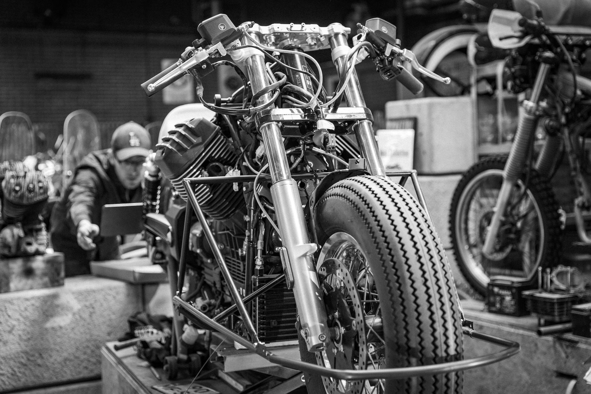 Vanguard Moto Guzzi V8