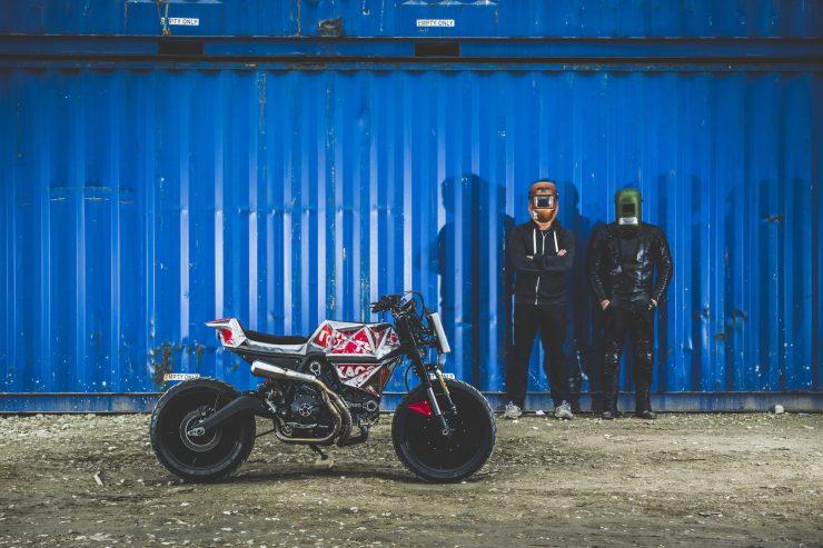 Vibrazioni Art Design Ducati Monster 800 1