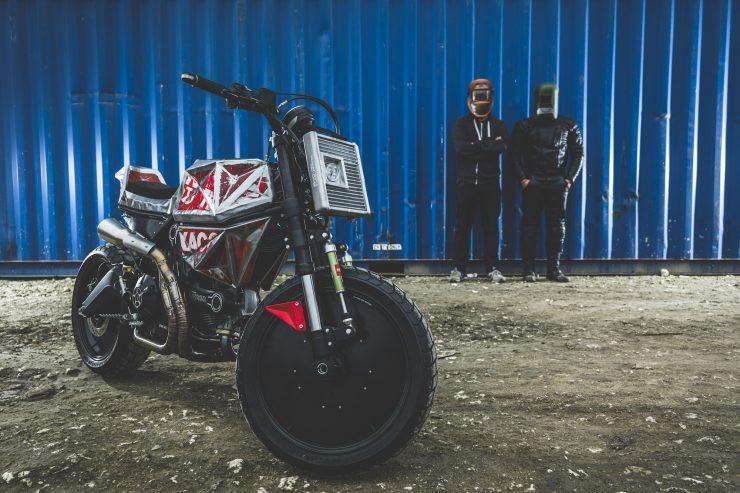 Vibrazioni Art Design Ducati Monster 800 2